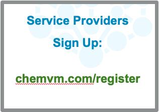 Chemical service providers register here for ChemVM